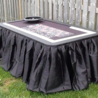 deluxe roulette table rentals