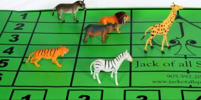 jungle race props