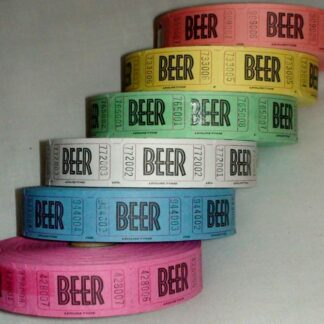 Beer Tickets