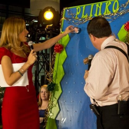 breakfast television using our xl plinko
