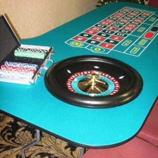 regular roulette table rental