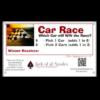 Car Race Sign