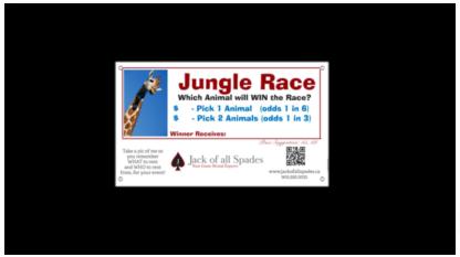 Jungle Race Sign