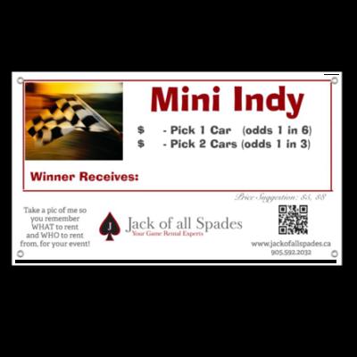 Mini Indy Sign