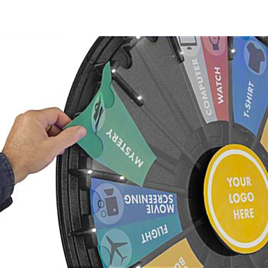 """How to Assemble a 31"""" Prize Wheel"""