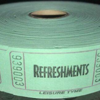 Green Refreshment Tickets