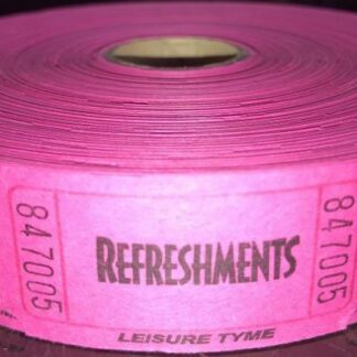 Fuchsia Refreshment Tickets